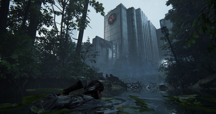 The broken city of Seattle in The Last of Us Part II.