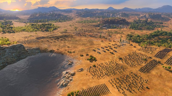 A mythical battle becomes real on the plains of Troy.