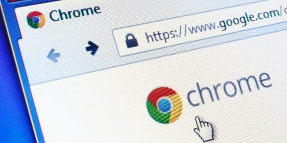 Google Chrome pixelized picture