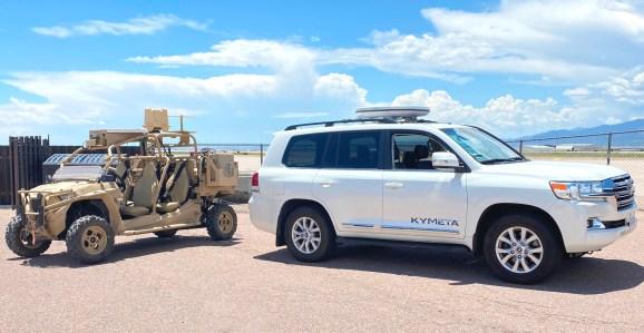 RZR and Kymeta Land Cruiser