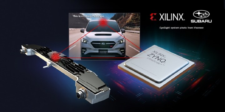 Xilinx's Zynq programmable chips are used in the Subaru Leovarg.