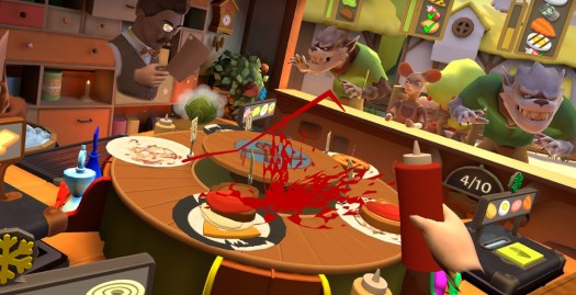 Cook-Out: A Sandwich Tale review -- Culinary chaos in VR 3