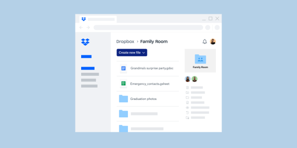 Dropbox Family Plan