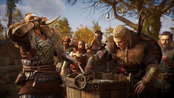 Drinking for vikings! Vikings for drinking!