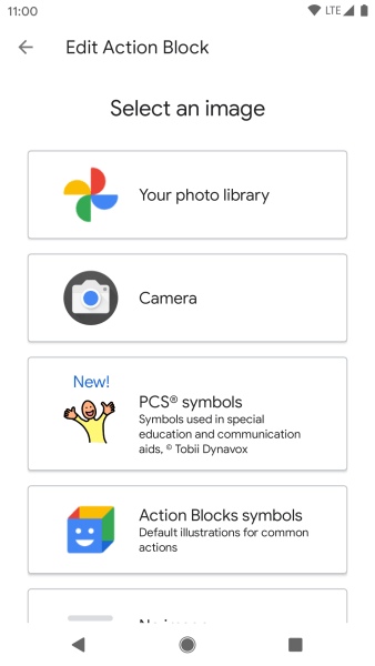 Tobii Dynavox Google Assistant