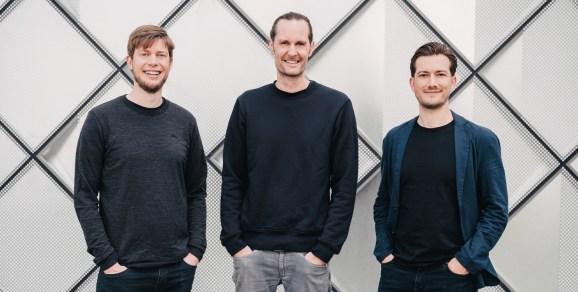 Dance founders Christian Springub, Eric Quidenus-Wahlforss, and Alexander Ljung