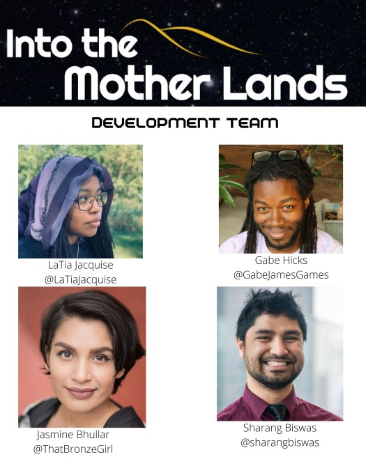 Into the Mother Lands interview: Twitch invests in an RPG show led by people of color 3