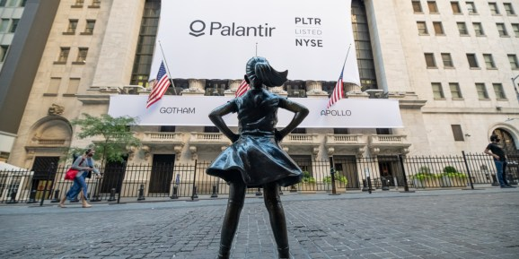 A view of Kristen Visbal's Fearless Girl outside New York Stock Exchange as the city continues Phase 4 of re-opening following restrictions imposed to slow the spread of coronavirus on September 30, 2020 in New York City. The fourth phase allows outdoor arts and entertainment, sporting events without fans and media production.