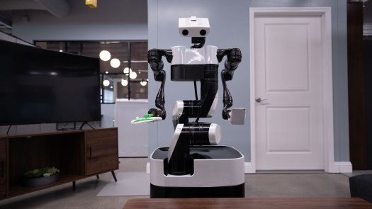 Toyoto Research Institute floor robot