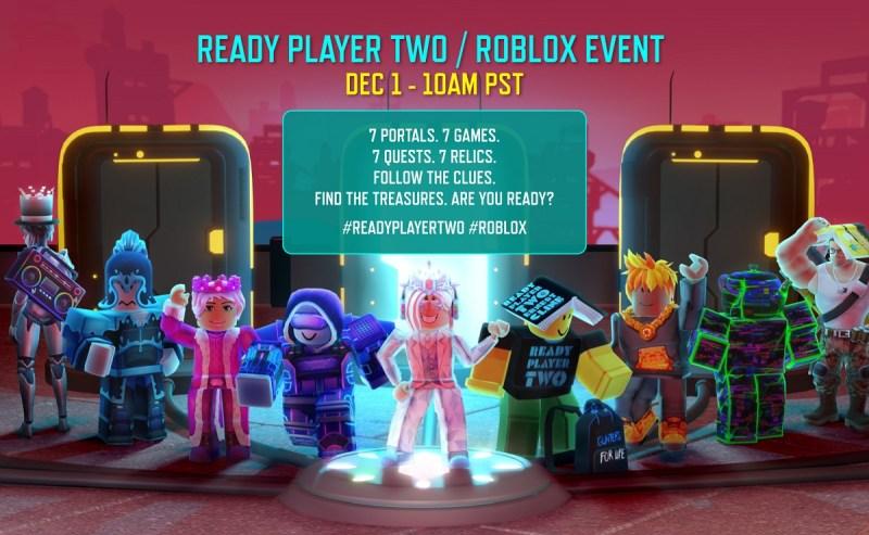 Η Roblox θα διοργανώσει εκδηλώσεις που σχετίζονται με το Έτοιμο Παίκτη Δύο του Ernest Cline.