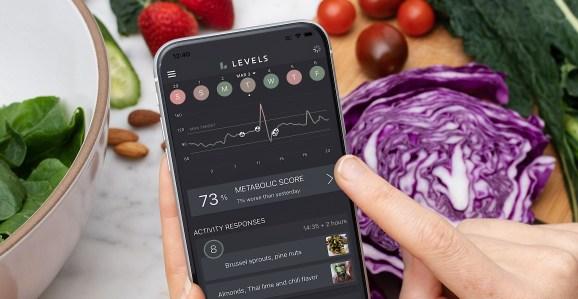 Levels mobile app