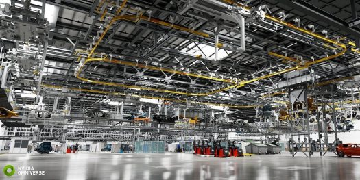 BMW Group is using Omniverse to build a digital factory that will mirror a real-world place.