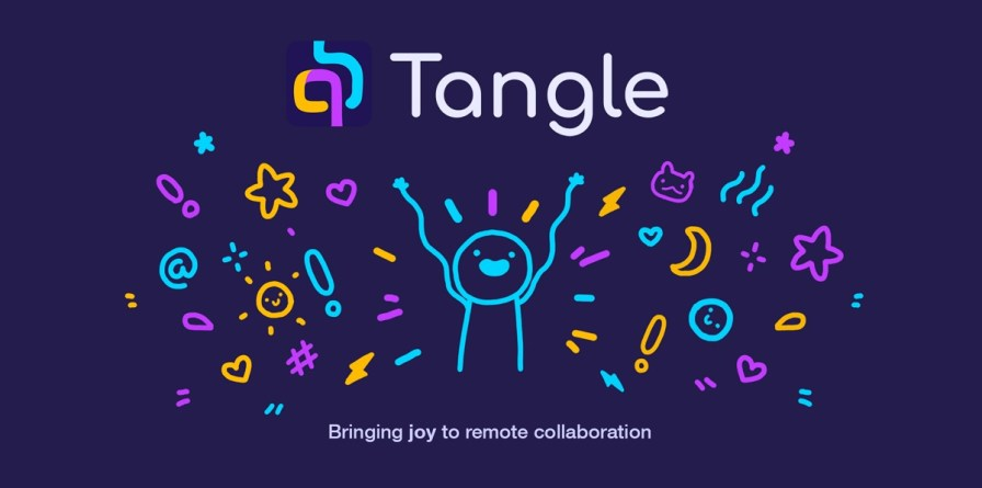 Tangle aims to bring joy to teleworking.