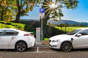 Fundraising electric charging