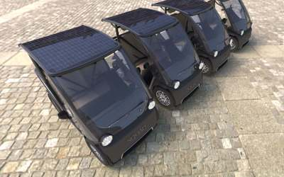 Betaalbare Urban Solar Car