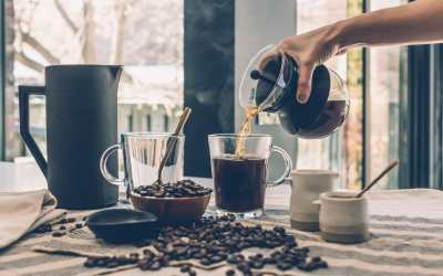 Functionele koffie met vitamines en superfoods