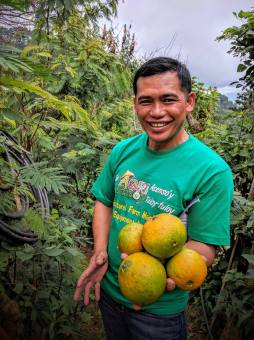 Seed Saver and Organic Farmer Pastor Andrew Bandiwan