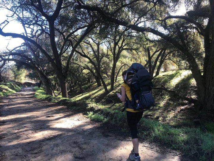 hiking powder canyon trail california
