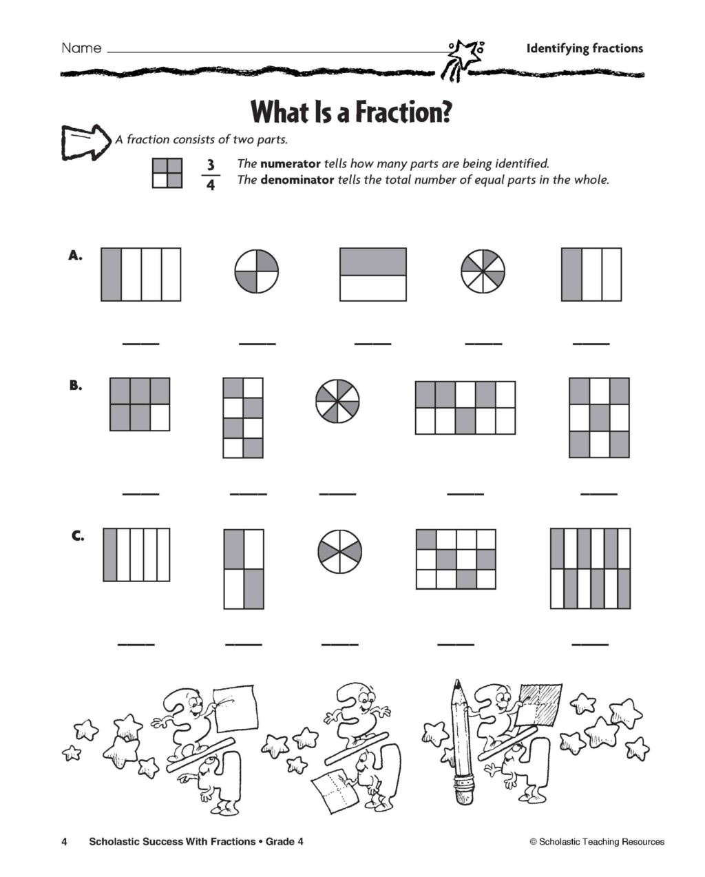 hight resolution of 2nd Grade Fractions Pizza Worksheet   Printable Worksheets and Activities  for Teachers