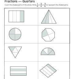 2nd Grade Adding Fractions Worksheet   Printable Worksheets and Activities  for Teachers [ 1325 x 1024 Pixel ]