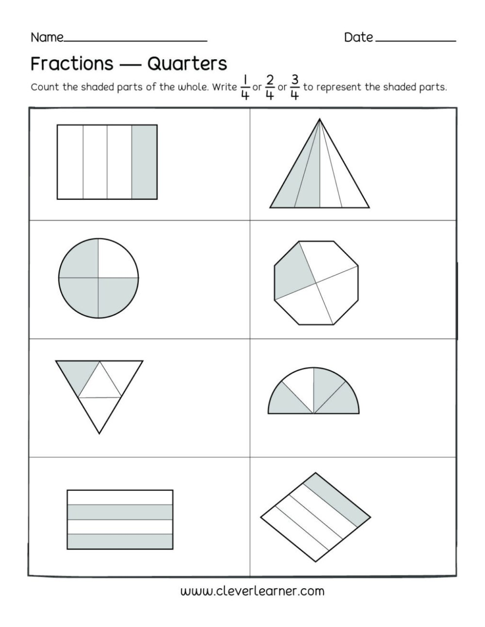 medium resolution of 2nd Grade Adding Fractions Worksheet   Printable Worksheets and Activities  for Teachers
