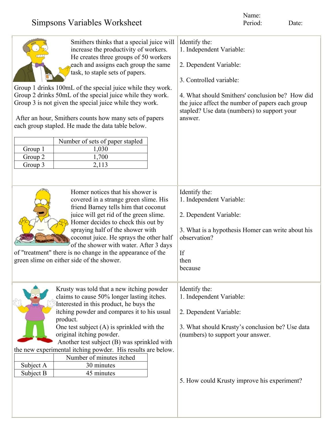 Relative Dating Worksheet Answer Key