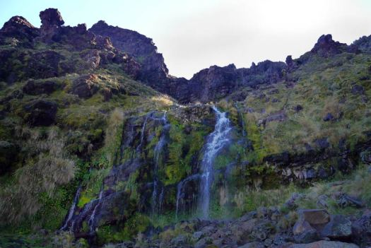 Waterfalls around Tongariro National Park: Soda Springs