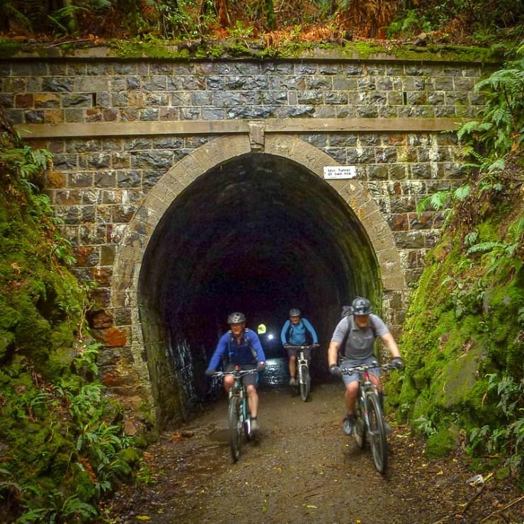 Rimutaka Cycle Trail - Railway Tunnel