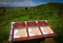Old Coach Road information panels