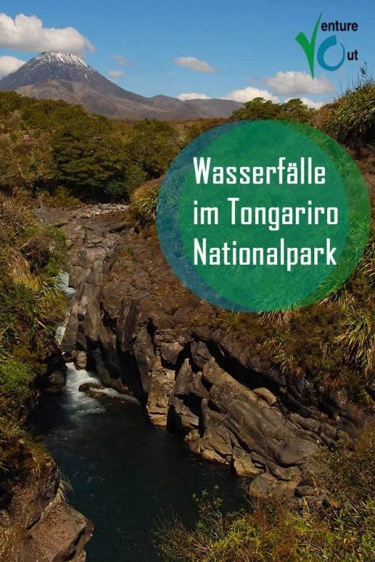 Tongariro Nationalpark Wasserfall