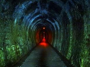 Hauraki Rail Trail tunnel