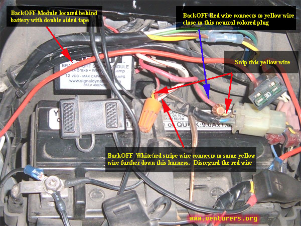 That Particular Circuit Is Located Here Brake Light Pulser