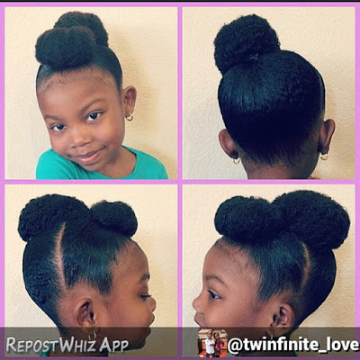 african hair puff