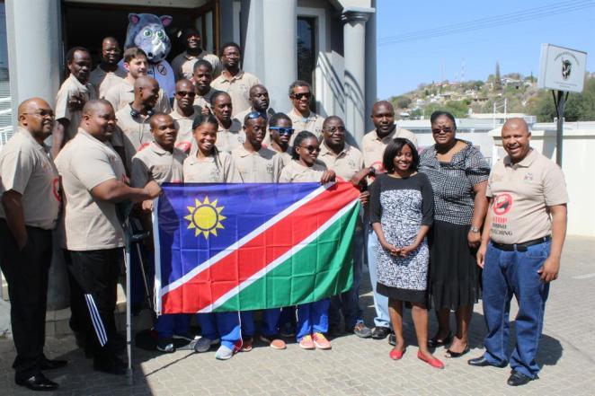Namibia's Paralympics Team