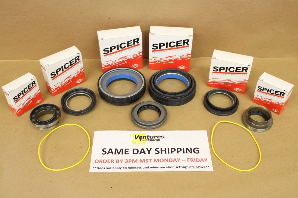 medium resolution of complete master seal kit ford super duty f250 f350 dana 50 front axle 98 01