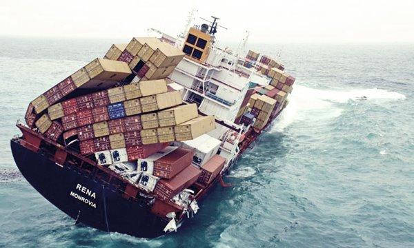 damaged cargo