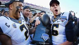 Cal Wins Armed Forces Bowl, Oddly Enough