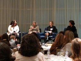 MedTech Women Board event featuring Abby Adlerman, Maria Saenz, Jessica Grossman and me