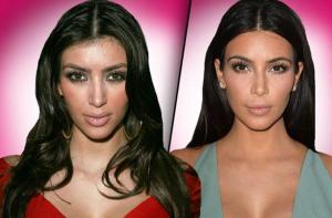 Kim, before and after