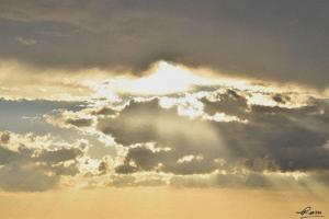 Golden Sunset, by Rasu Shrestha