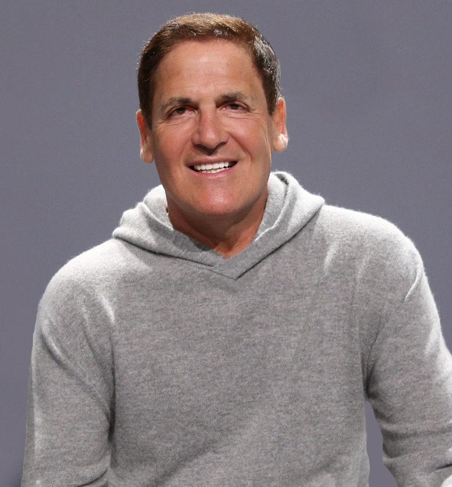 """Mark Cuban of the Dallas Mavericks, """"Shark Tank"""""""