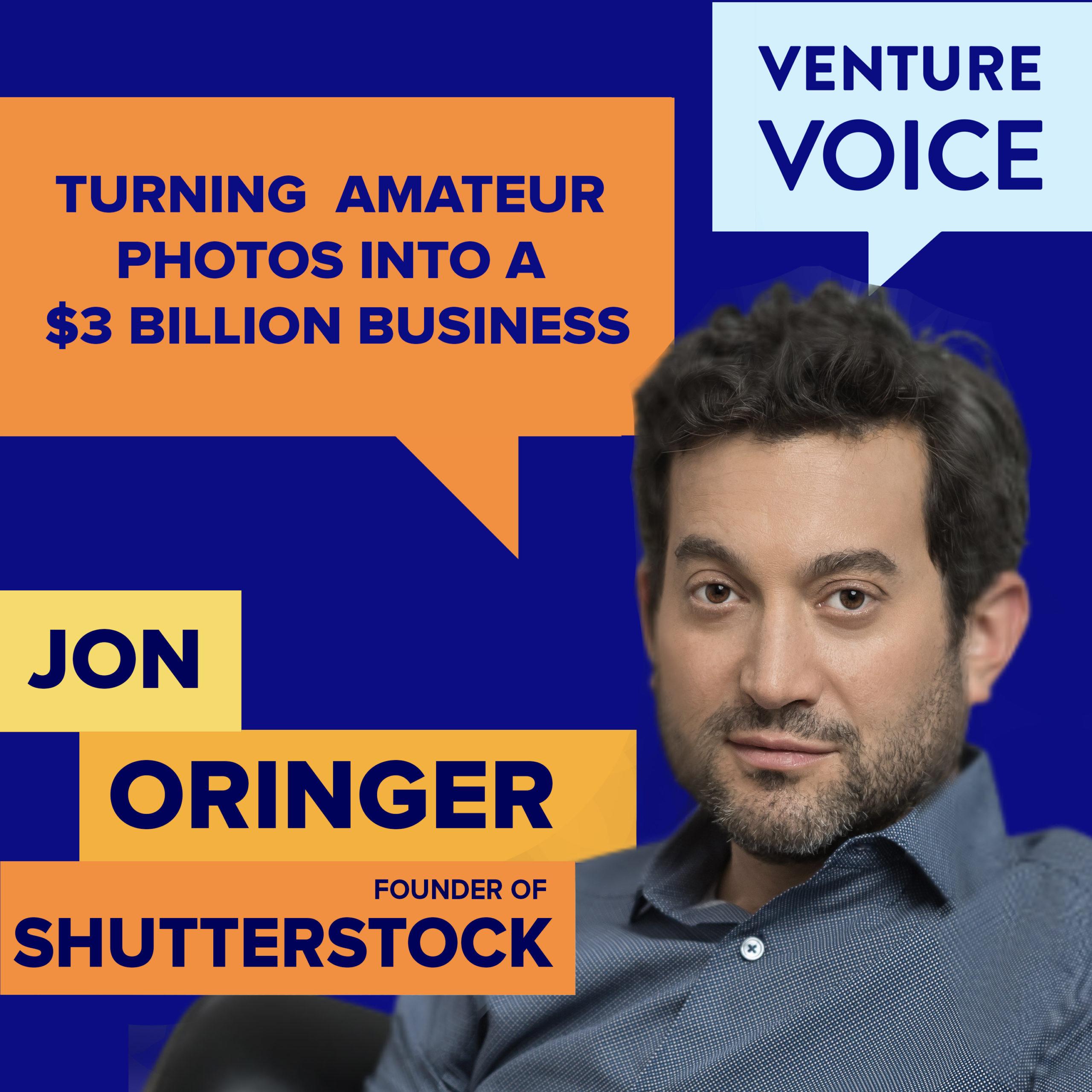 Jon Oringer of Shutterstock