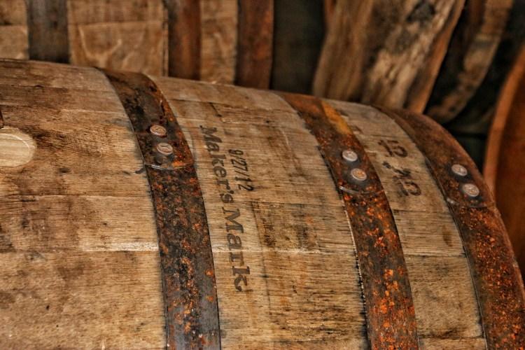 A Barrel Full Of Makers Mark Bourbon
