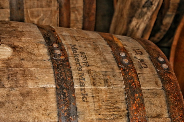 A Barrel Full Of Makers Mark Bourbon