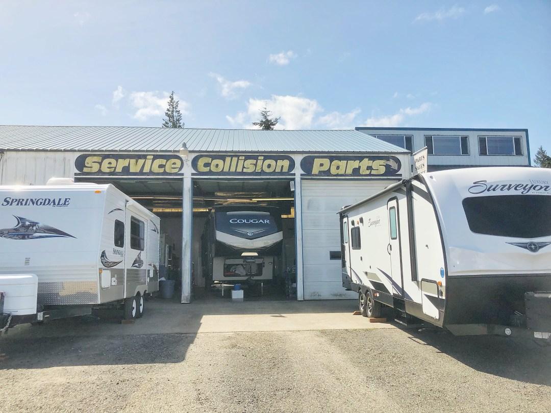 RV Repair In Port Angeles Washington