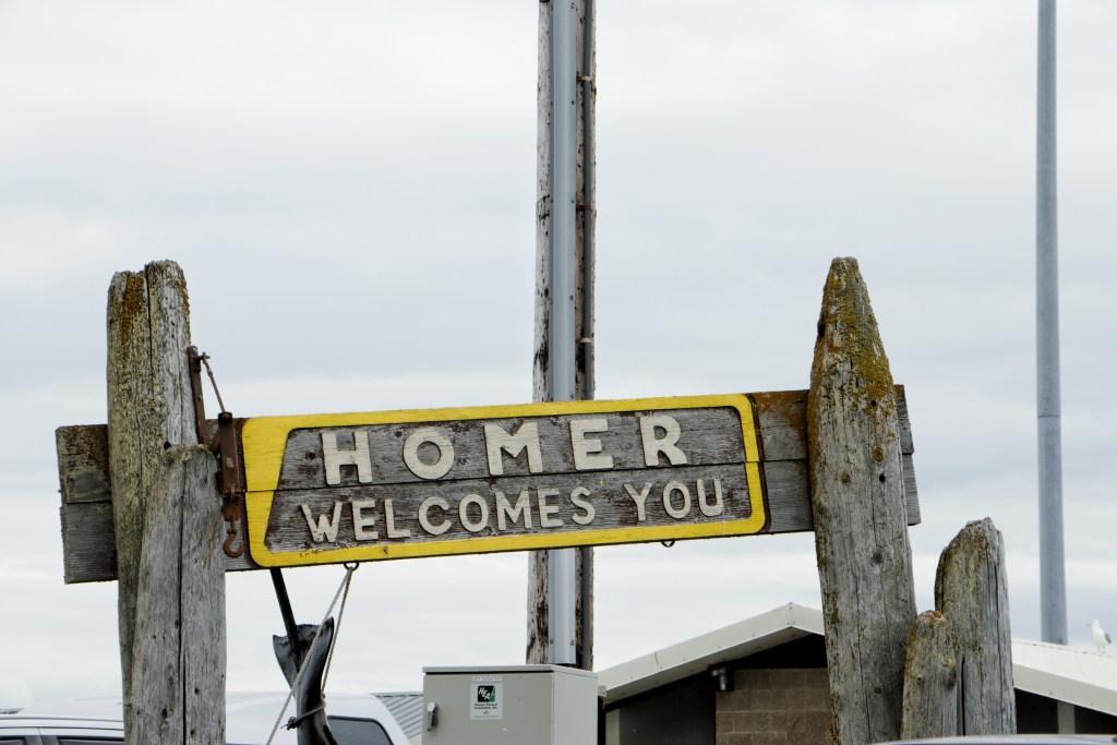 Welcome To Homer Alaska