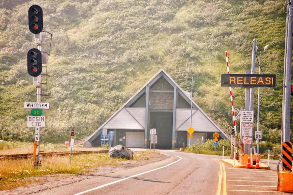 Tunnel To Whittier Alaska