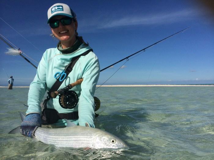 Kate Taylor Christmas Island Bonefish