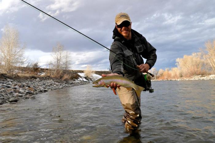 Tom Martin rainbow trout
