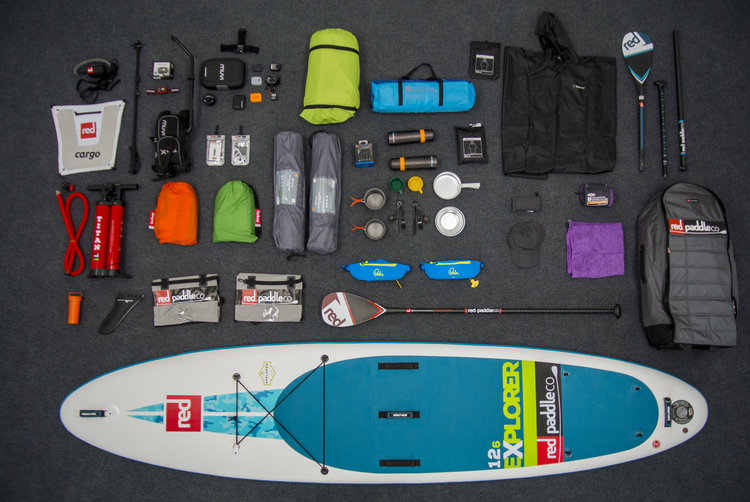 red paddle package